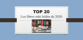 Los más leídos de nuestras bibliotecas (2020)