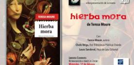 Presentación virtual de 'Hierba mora' de Teresa Moure