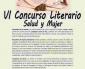 """Convocado el VI Concurso Literario """"Salud y Mujer"""""""