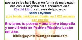 'Nacer Leyendo' de la Biblioteca de Coaña, apadrina con poesía