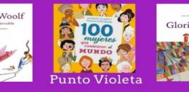 #PuntoVioleta en la Biblioteca de Ribadesella