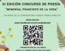 """Convocada la III edición del Concurso de Poesía """"Memorial Francisco de la Vega"""""""