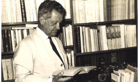 Exposición sobre Canteli en la Biblioteca de Asturias