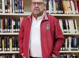 Manuel Santiago Pérez, bibliotecario de Tineo
