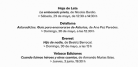 Diez editoriales asturianas en la Feria del Libro de León