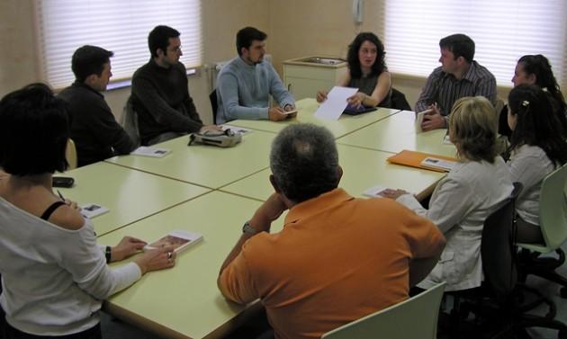 Club de Lectura con el escritor José Luis Rendueles, en la Biblioteca de Turón