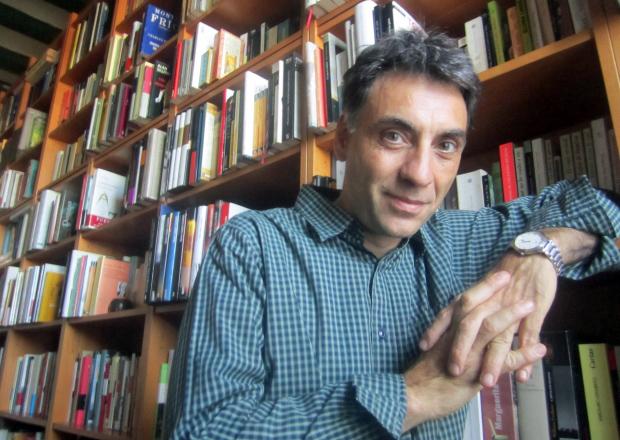 Biblioasturias-Toni Iturbe (Fotografia:Nestor Gonzalez)