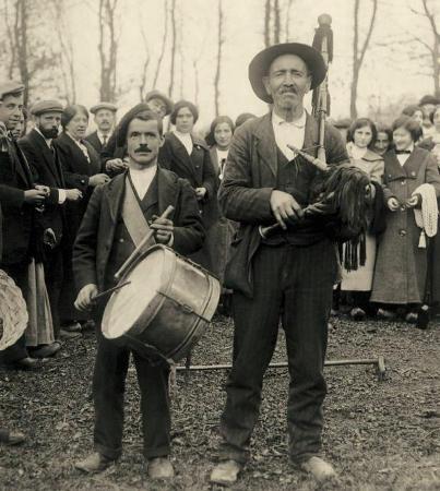 AMAGUESTU EN PILOnA. FOTO DE MODESTO MONTOTO, 1910